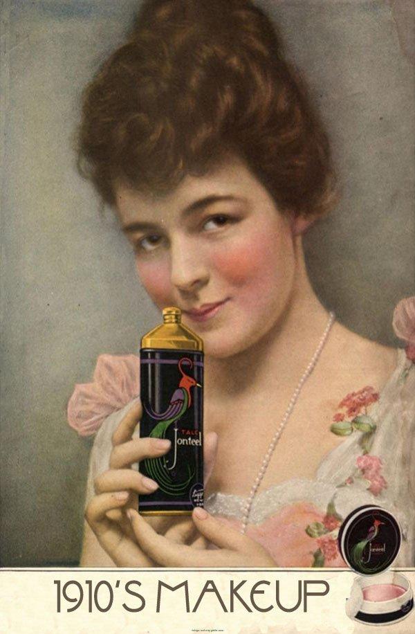 Vintage Makeup Guides Guide
