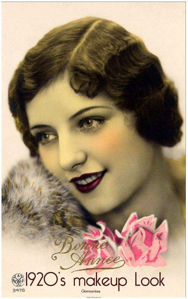 1920s Flapper makeup Style | vintage makeup guide