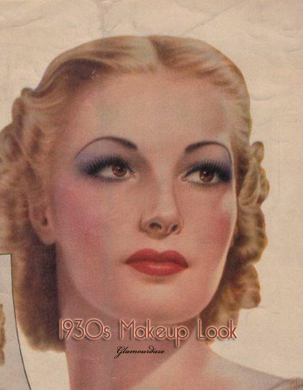 Vintage 1930s Makeup Guide