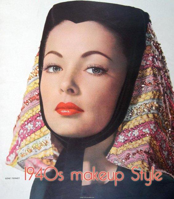 1940s Makeup Tips Tutorial