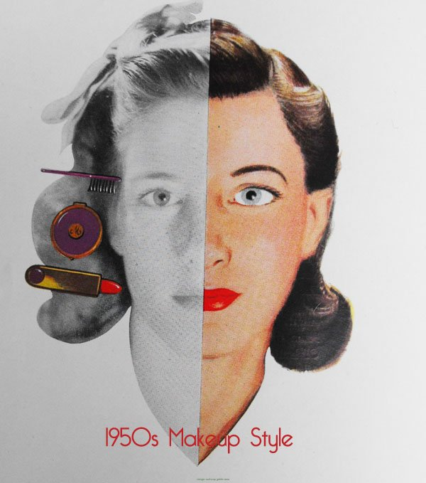1950s Makeup Styles for Women