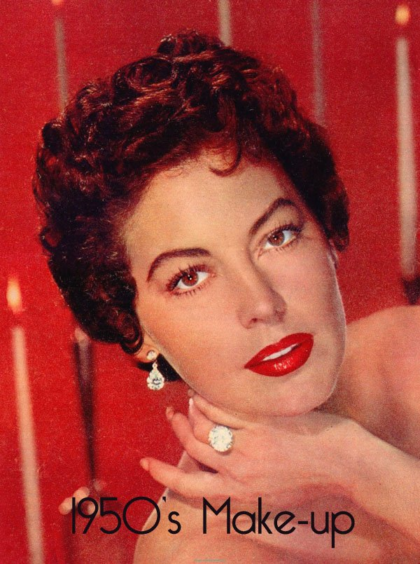 Vintage 1950s Makeup | Vintage Makeup Guides - photo #13