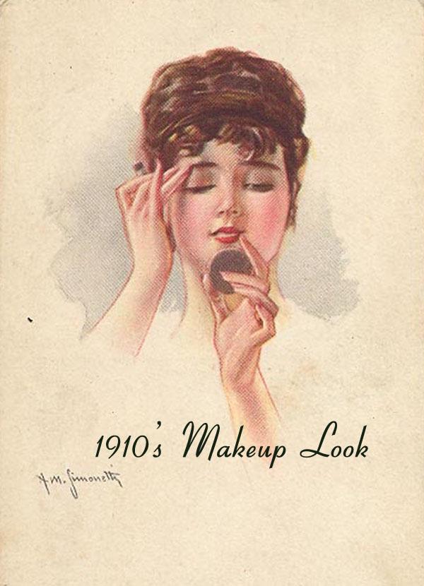 1920s makeup look. Vintage Makeup Styles