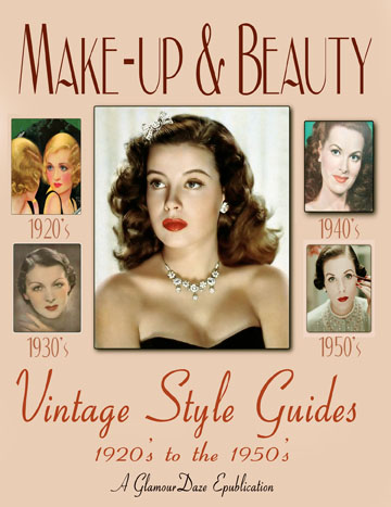 vintage make-up guides