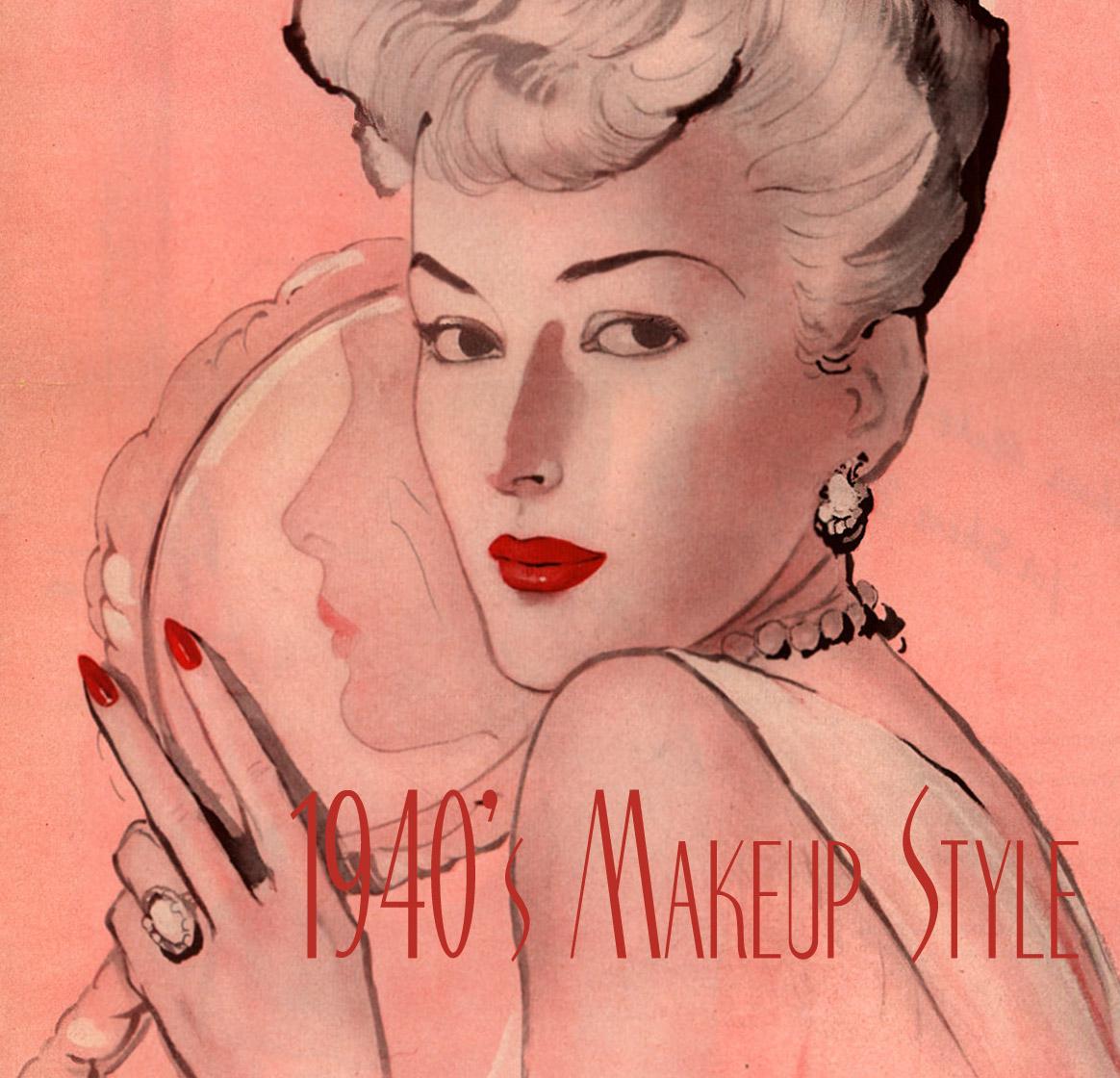 Frysdeskia Secret 1940 S Makeup Tricks