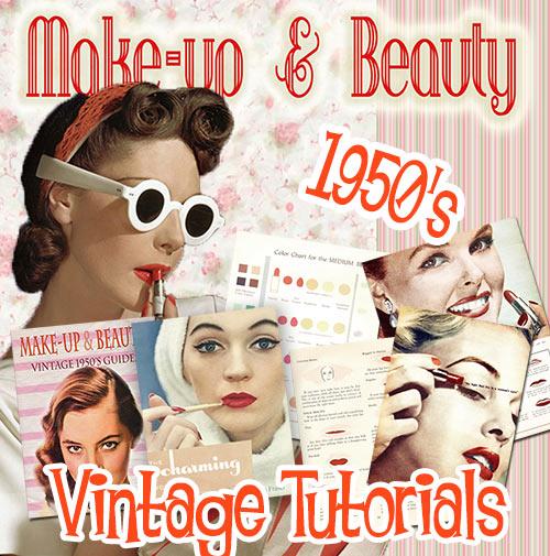 1950s makeup looks guides tutorials