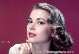 Grace-Kelly-1950s-makeup
