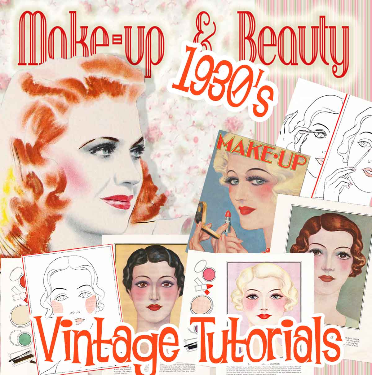 1930 makeup beauty guides