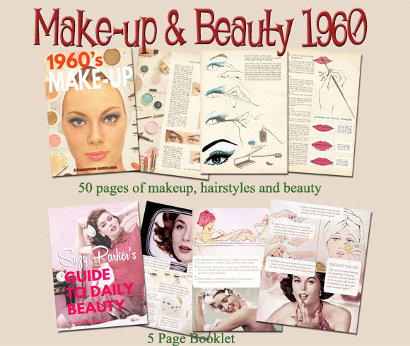 1960s beauty guides