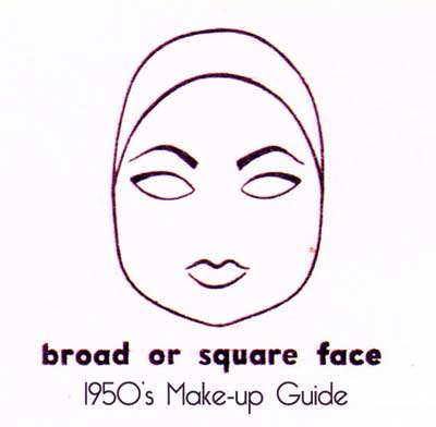 1950s-eyebrow-shape---broad-or-square-face