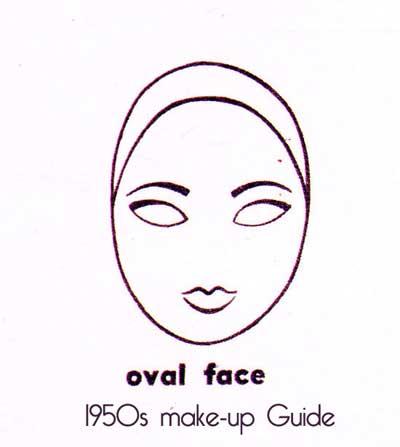 1950s-eyebrow-shape---oval-face