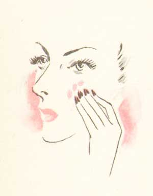1940s-makeup-secrets---the-correct-way-to-apply---moist-rouge