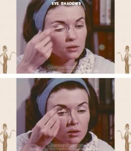 vintage-1960s-makeup-tutorial13-eye-shadows