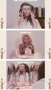 vintage-1960s-makeup-tutorial4-how-to-apply-foundation