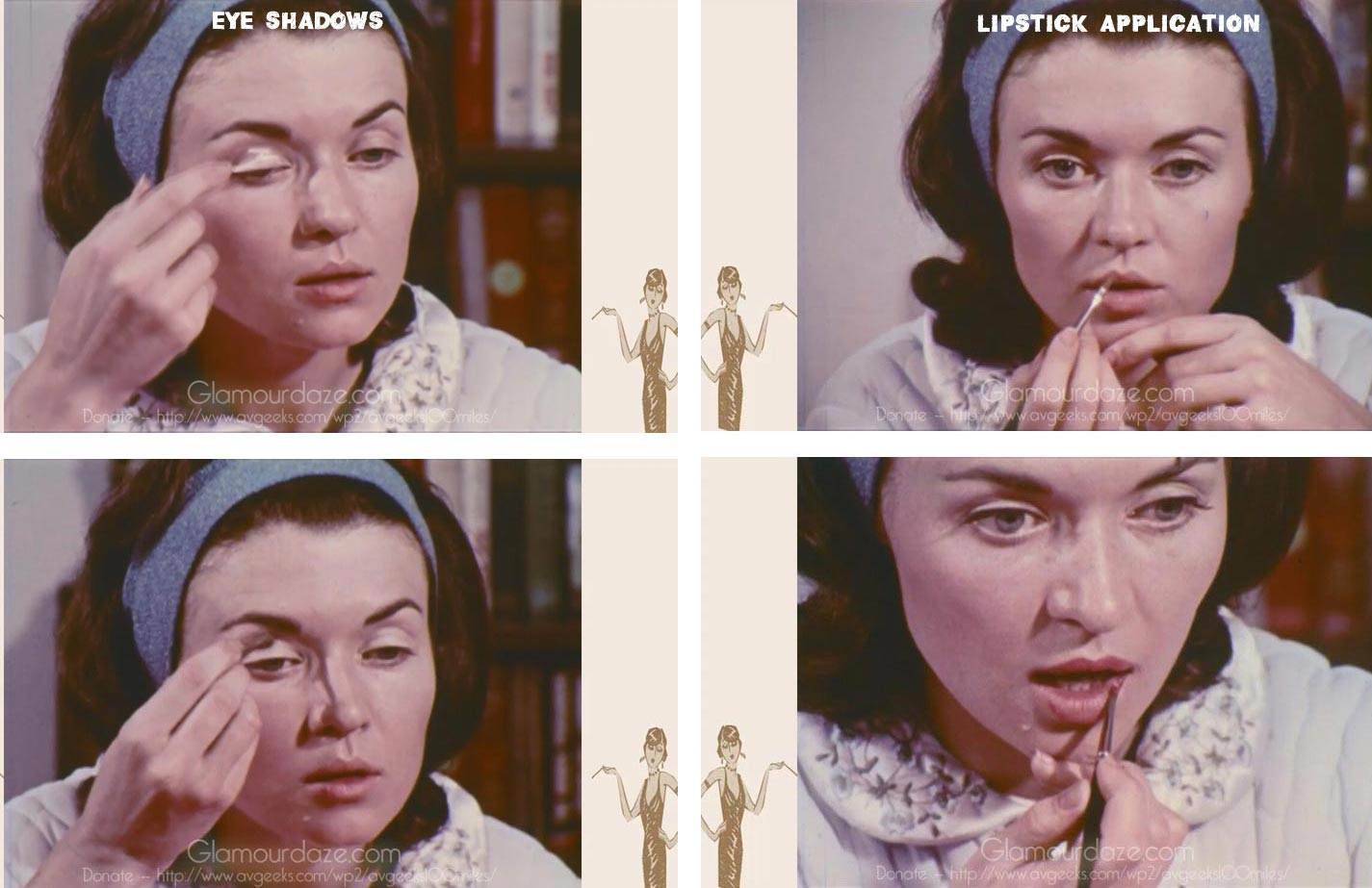 vintage 1960s makeup tutorial vintage makeup guide