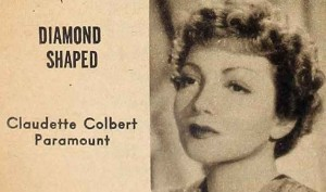 6-1942-Hair-and-Makeup---Diamond-Shaped---Claudette-Colbert