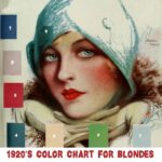 1920s Color Chart for your type – Blondes