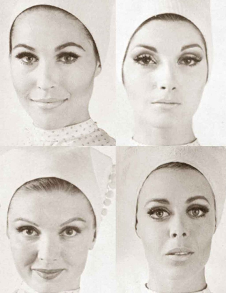 1960s-makeup-looks---four-faces