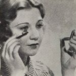 How to apply 1930s Cake Mascara
