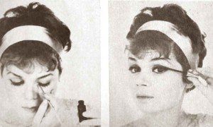 A-quick-Early-1960s-Eye-Makeup-Look---step-5-and-6