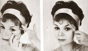 A-quick-Early-1960s-Eye-Makeup-Look---step1-and-2