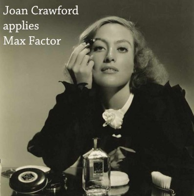 Joan-Crawford-applies-max-Factor-makeup---1934