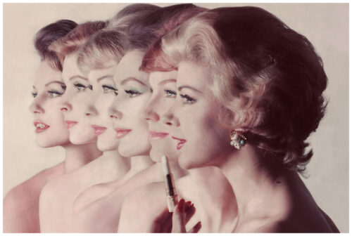 six-faces-in-profile-wearing-different-shades-of-lipstick-by-revlon-photo-john-rawlings-1959