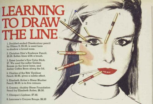 1970s-Makeup-Look---Eight -pencils