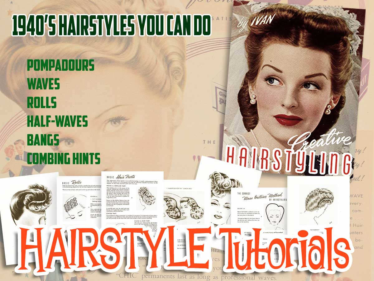 1940s-creative hairstyles-you-can-do