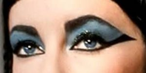 Elizabeth Taylor Cleopatra eyes