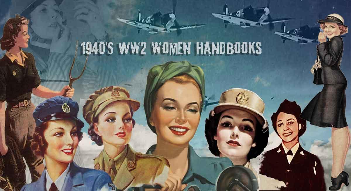 1940s-WW2-Women-Handbooks