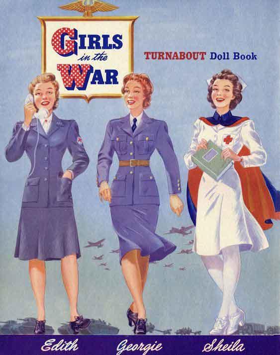 Girls-in-the-War-Paper-Dolls---Download-WW2-Women-Pack