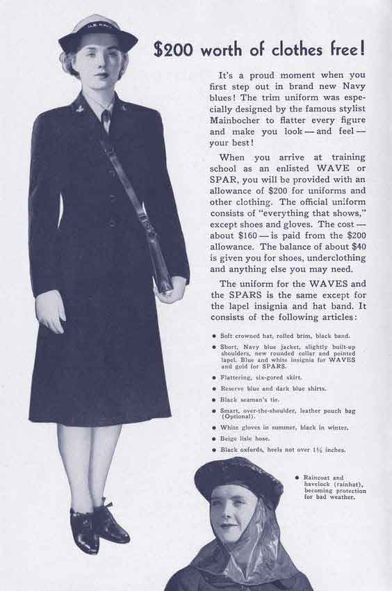 Join-the-SPARS-or-WAVES-Booklet---Download-WW2-Women-Pack