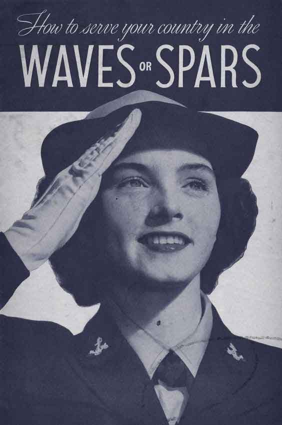 Join-the-WAVES-or-SPARS-Booklet---Download.-1940s-US-Wartime-Women-Download-WW2-Women-Pack