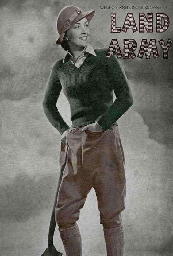 Land-Girl-Knitting-Pattern---Download-WW2-Women-Pack