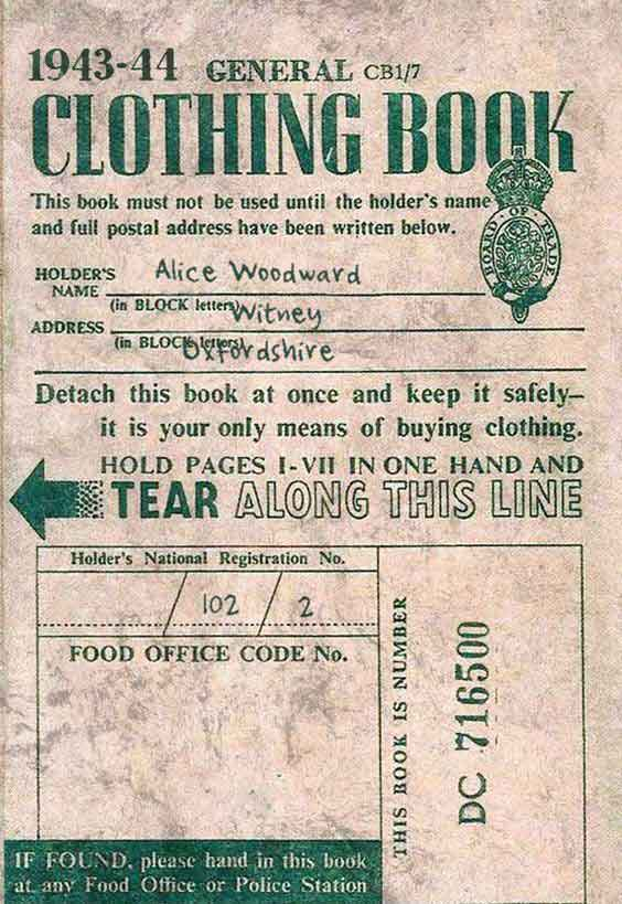 Original-Clothing-Ration-Book-1943-44-Download-WW2-Women-Pack