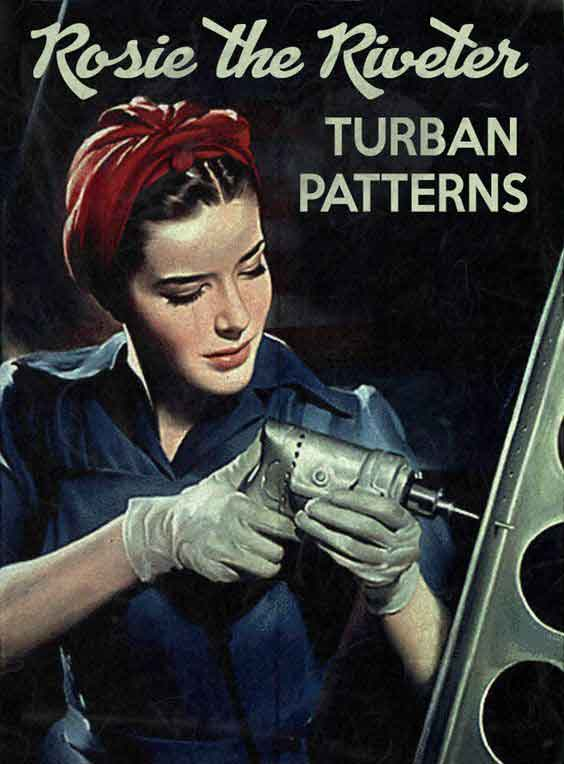 Rosie-the-Riveter-Turban-Patterns---Download-WW2-Women-Pack