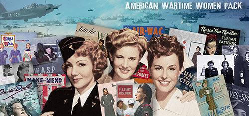 1940s American wartime women