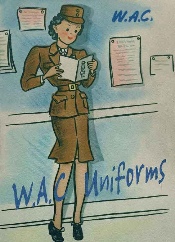 WAC-Uniform-Booklet---Download.-1940s-US-Wartime-Women-Download-WW2-Women-Pack