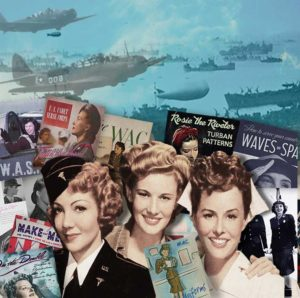 US Wartime Women Books
