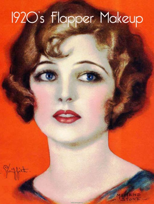 1920s Flapper Makeup style14
