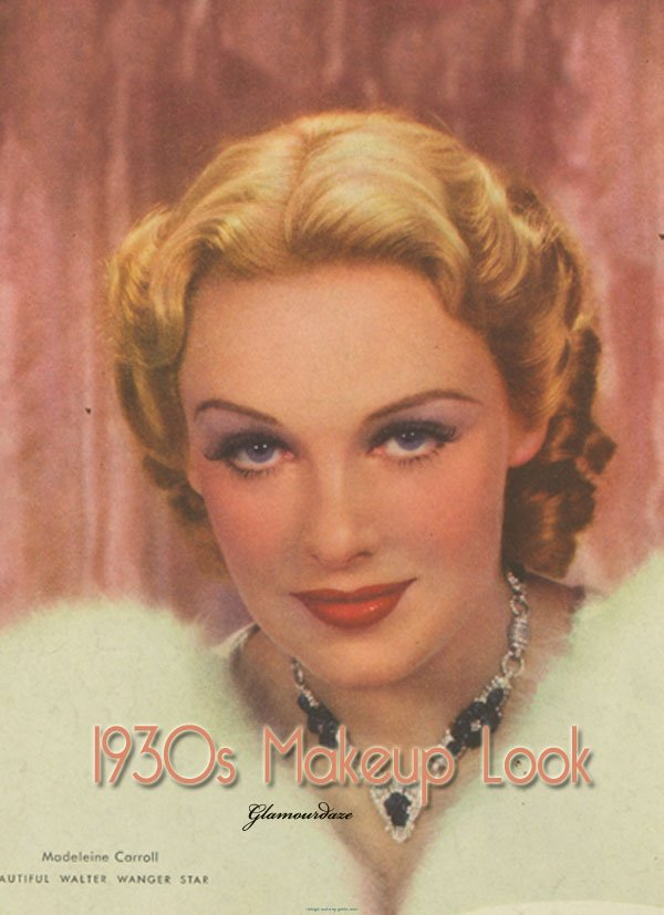 Vintage 1930s Makeup Look Vintage Makeup Guides