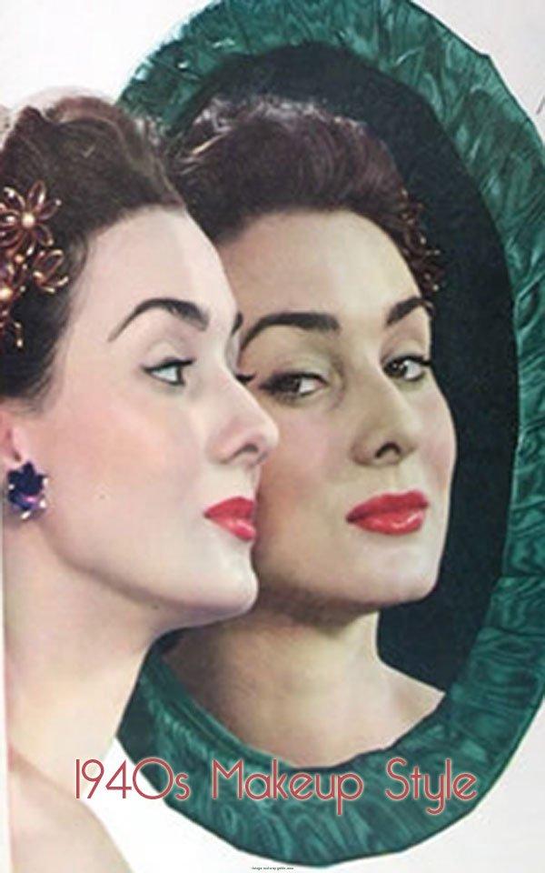 1940s Makeup Tips Tutorial Vintage Makeup Guides - 1940-makeup