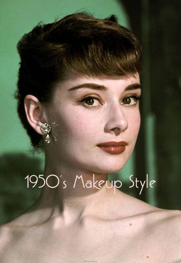 makeup and hair styles vintage 1950s makeup vintage makeup guides 8060