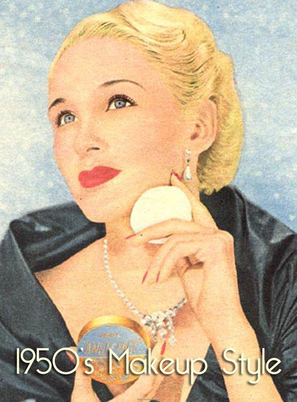Vintage 1950s Makeup | Vintage Makeup Guides  Vintage 1950s M...