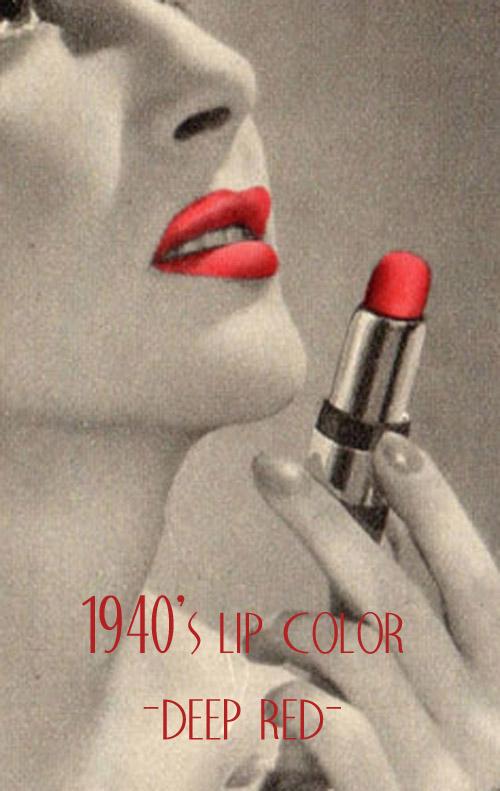 1940 S Makeup Guide