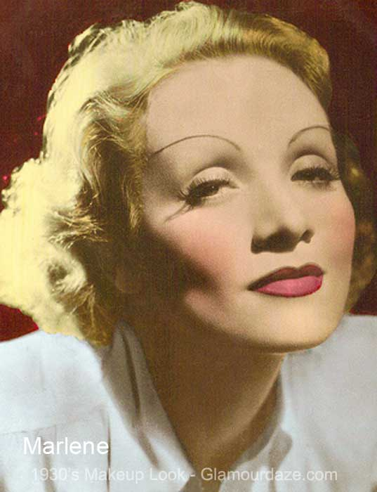 Marlene Dietrich - The 1930's Face