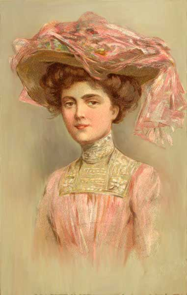 Victorian Makeup Styles Image Gallery | vintage makeup guideVictorian Woman Portrait