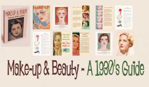 1930 makeup guides