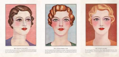 1920s to 1930s makeup-looks